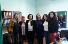 Επίσκεψη Υφυπουργού Εσωτερικών Μ. Χρυσοβελώνη στον Ξενώνα Κακοποιημένων Γυναικών Δήμου Βόλου