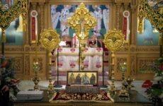 Ο Βόλος υποδέχθηκε την άφθαρτη χείρα του Αγίου Διονυσίου από την Ζάκυνθο