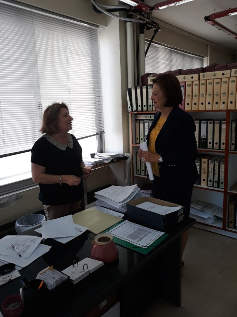 Επίσκεψη υφυπουργού Εσωτερικών στο Ληξιαρχείο – Δημοτολόγιο Βόλου