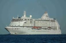Κατάπλους κρουαζιεροπλοίου «SEVEN SEAS VOYAGER» στο Βόλο
