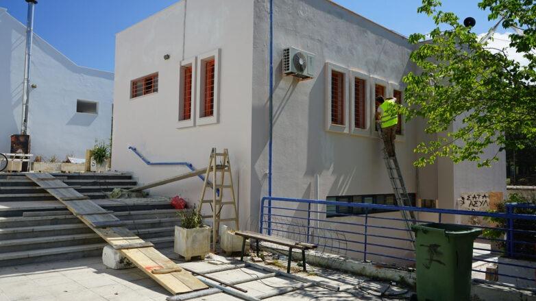 Eργασίες βελτίωσηςκτιριακών εγκαταστάσεων και περιβάλλοντος χώρου του Αθλητικού Κέντρου Χιλιαδούς