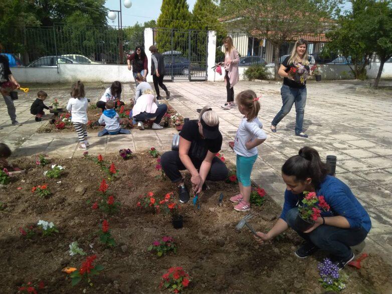 Η Γιορτή των Λουλουδιών στον Παιδικό Σταθμό Ριζομύλου