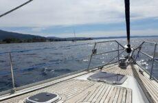 Ακινητοποίηση ιστιοφόρου σκάφους στον Πανόρμο Σκοπέλου