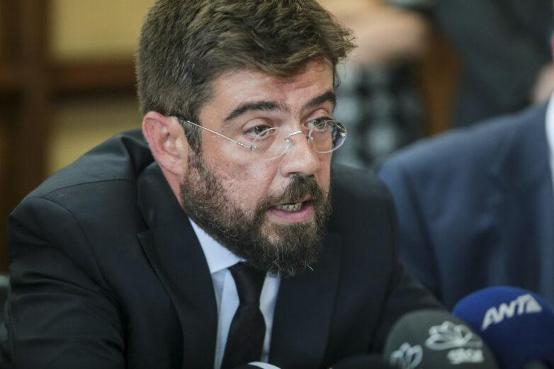 Στο Βόλο ο Υπουργός Δικαιοσύνης και Διαφάνειας Μιχάλης Καλογήρου