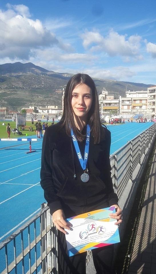 Πανελληνιονίκης αθλήτρια της Νίκης Βόλου στην τελική φάση σχολικών πρωταθλημάτων στα Ιωάννινα
