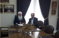 Εποικοδομητική συνεργασία μητροπολίτη Ιγνάτιου -δημάρχου Ζαγοράς – Μουρεσίου Παν. Κουτσάφτη