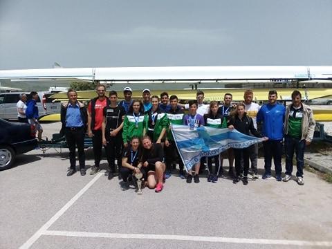 Eπιτυχίες του ΝΟΒΑ στο Πανελλήνιο πρωτάθλημα Κωπηλασίας