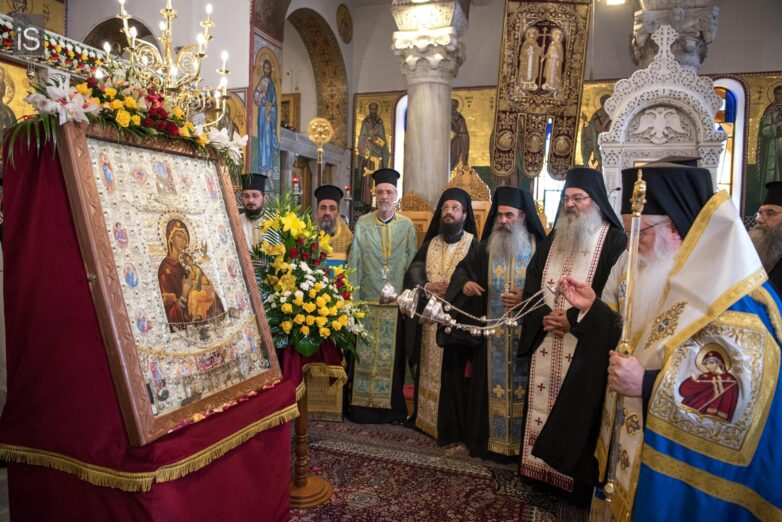 Η Ιερά Εικόνα της Παναγίας «Φοβεράς Προστασίας» στο Βόλο
