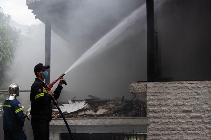 Φωτιά σε διαμέρισμα πολυκατοικίας στο Βόλο