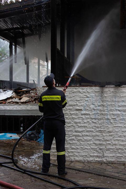 Φωτιά σε κουζίνα  στην Ανακασιά