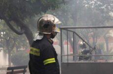 Φωτιά από τζάκι στην Τσαγκαράδα