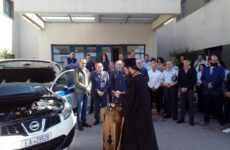 Δωρεά ενός SUV στο Αστυνομικό Τμήμα Αλμυρού από την ΙΝΤΕΡΚΑΤ Α.Ε.
