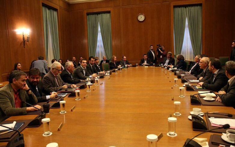 Συνεδριάζει στις 13:00 το υπουργικό συμβούλιο