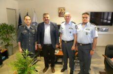 Επίσκεψη Μ. Μιτζικού στη Διεύθυνση Αστυνομίας Μαγνησίας