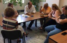 Συνάντηση είχε ο Γ. Καλτσογιάννης με τα στελέχη και τους εργαζόμενους στο ΙΚΑ