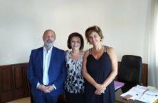 Μπαράζ επαφών σε υπηρεσίες και φορείς του Βόλου από την υφυπουργό Εσωτερικών Μαρίνα Χρυσοβελώνη