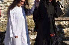 Κουρά νέας μοναχής στην Ιερά Μονή Παναγίας Λαμπηδόνος