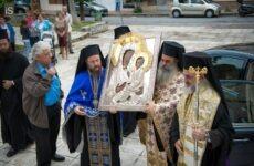 Στην Ανάληψη η Ιερά Εικόνα της Παναγίας του Όρους των Ελαιών