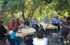 Συναντήσεις Γ. Καλτσογιάννη στα χωριά και τις κωμοπόλεις με παραγωγούς