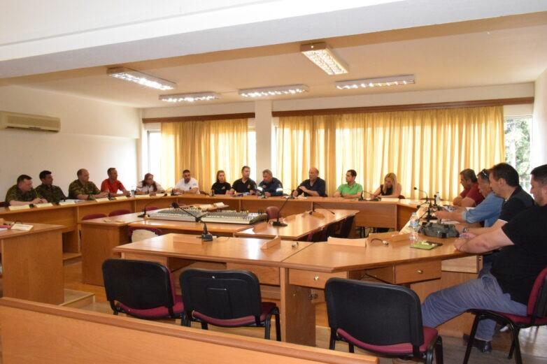 Συνεδρίαση Συντονιστικού Οργάνου Πολιτικής Προστασίας Δήμου Ρήγα Φεραίου