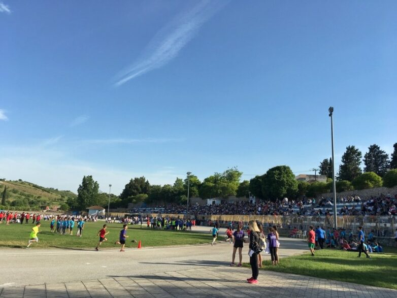 Πλήθος μικρών αθλητών στους Αγώνες Στίβου- Ρήγεια 2019