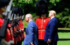 Η «βασιλική» υποδοχή του Τραμπ στο παλάτι του Μπάκιγχαμ