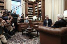 Την προκήρυξη πρόωρων εκλογών ζήτησε ο Αλέξης Τσίπρας από τον Πρόεδρο της Δημοκρατίας (βίντεο)
