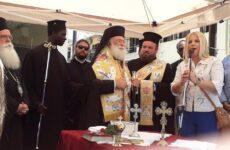 Αγιασμός των αλόγων στα Καλά Νερά από τον Πατριάρχη Αλεξανδρείας & Πάσης Αφρικής Θεόδωρο Β΄