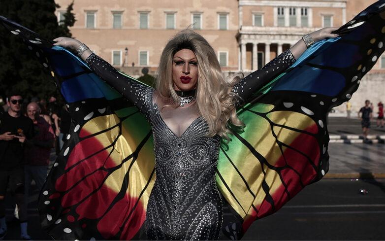 «Πολύχρωμο» πλήθος στο 15ο Athens Pride