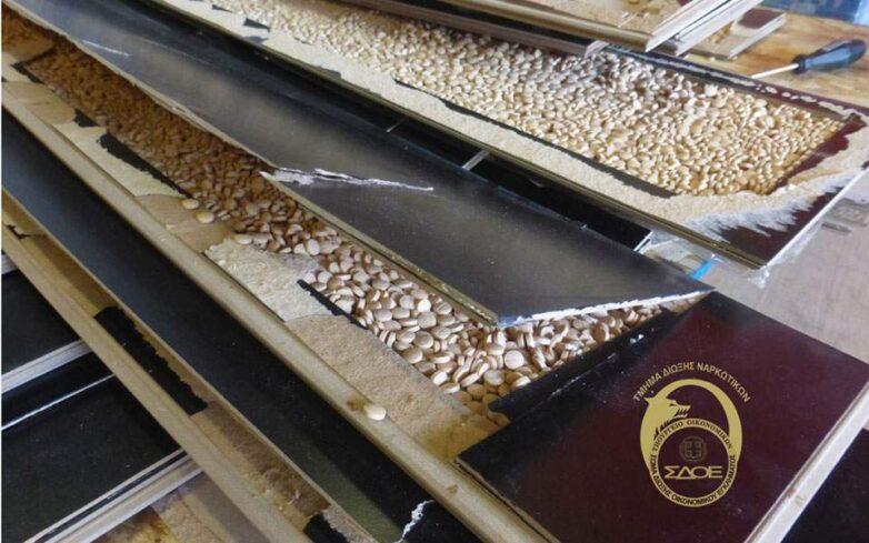 ΣΔΟΕ και DEA εντόπισαν 1,6 τόνους χάπια Captagon στο λιμάνι του Πειραιά