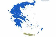 Επικράτηση της ΝΔ και στις επτά Περιφέρειες