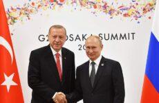 G20: Ενίσχυση της συνεργασίας στις επενδύσεις πρότεινε ο Πούτιν στον Ερντογάν