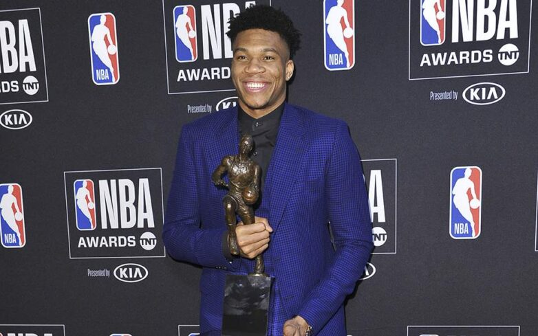 MVP στο NBA ο Γιάννης Αντετοκούνμπο