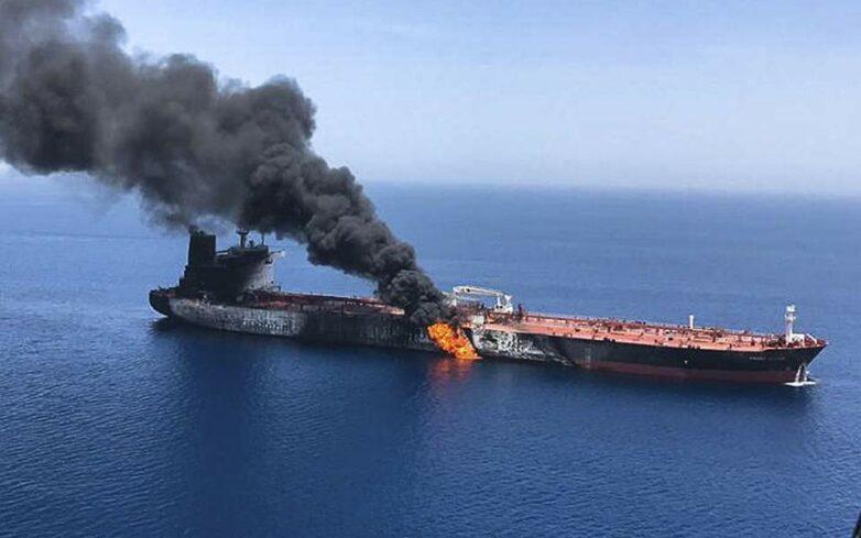 Συναγερμός στον Κόλπο του Ομάν – «Τορπίλη» στην τιμή του πετρελαίου (βίντεο)