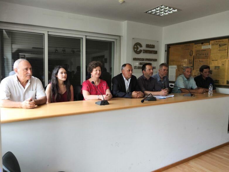 """ΚΚΕ: Παρουσιάστηκαν οι οκτώ υποψήφιοι βουλευτές με """"πυρά"""" κατά ΣΥΡΙΖΑ"""