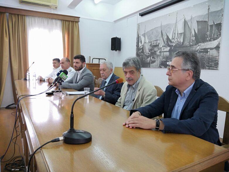 """Φ. Κουβέλης """"Ωφελημένη η τοπική κοινωνία από τις επενδύσεις στο λιμάνι του Βόλου"""""""