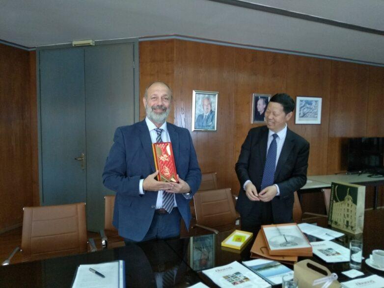 Μεγαλύτερη συνεργασία μεταξύ Παν. Θεσσαλίας και κινεζικού εκπαιδευτικού ιδρύματος