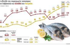 Η Ελλάδα χάνει τον «πόλεμο της τσιπούρας» με την Τουρκία