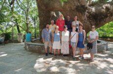 Γοητευμένοι οι Αυστριακοί δημοσιογράφοι με τη  Μαγνησία