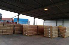 Πάνω από 11,5 εκατομμύρια τσιγάρα μέσα σε φορτίο «σανίδες-laminate»
