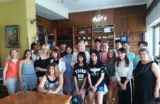 Μαθητές από την Κίνα και την Αμερική στην αντιπεριφερειάρχη ΠΕΜΣ