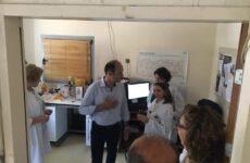 Συναντήσεις Γιώργου Καλτσογιάννη με διοίκηση και εργαζόμενους  του «Αχιλλοπούλειου»