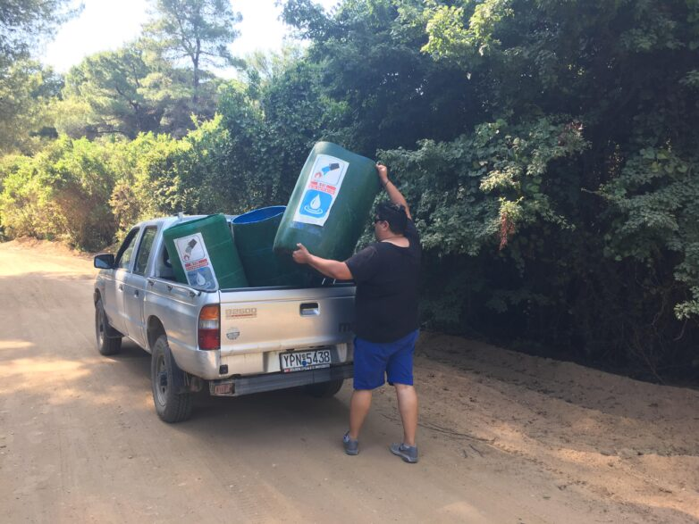 Upcycling … για πυρασφάλεια στη Σκιάθο