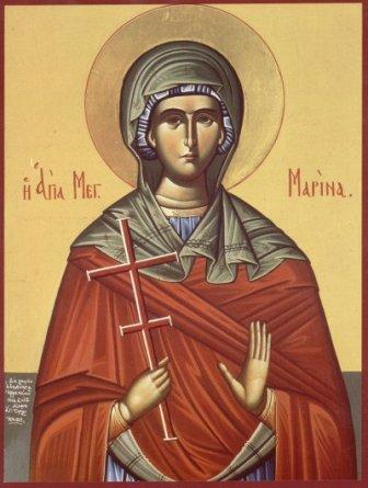Πανηγύρεις Αγίας Μαρίνης