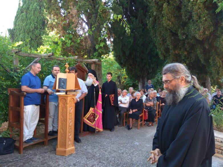 Πανηγύρισε η Μονή του Αγίου Σπυρίδωνος στο Προμύρι