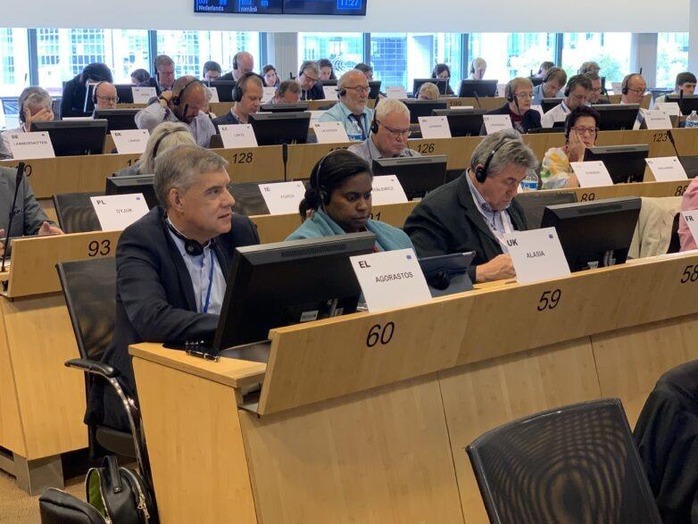 Κ. Αγοραστόςστις Βρυξέλες: «Η Ευρώπη, για να είναι χρήσιμη, πρέπει να έρθει πιο κοντά στον άνθρωπο»