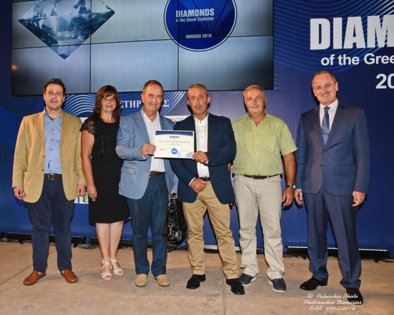 """""""Διαμάντι"""" της Ελληνικής Οικονομίας για δεύτερη συνεχόμενη χρονιά ο Αγροτικός Συνεταιρισμός Ζαγοράς"""