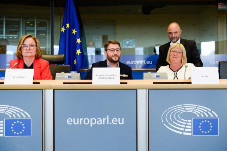 Ο Ν. Ανδρουλάκης Αντιπρόεδρος της Επιτροπής Άμυνας και Ασφάλειας του Ευρωπαϊκού Κοινοβουλίου