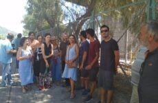 Σύλληψη τριών ακτιβιστών στην ΑΓΕΤ από τους λιμενικούς