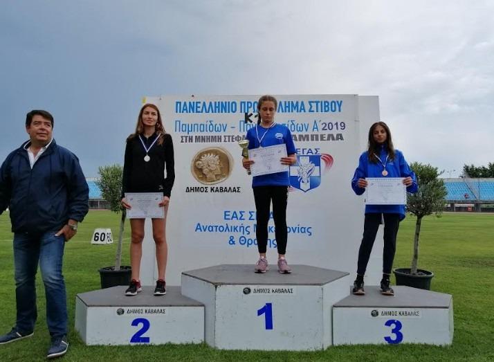 Μετάλλιο κι επιτυχίες για τη Νίκη Βόλου στην Καβάλα